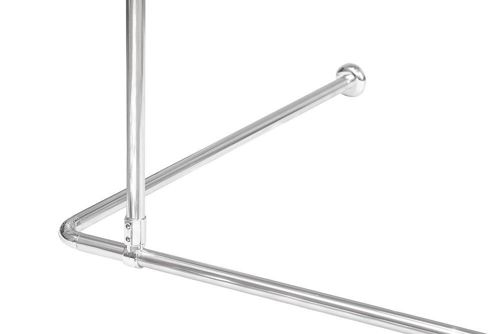 Ceiling Mount/Bracket for Shower Curtain Rail/ Rod Aluminium ...