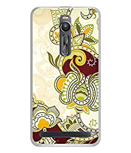 PrintVisa Designer Back Case Cover for Asus Zenfone 2 ZE551ML (Love Lovely Attitude Men Man Manly)