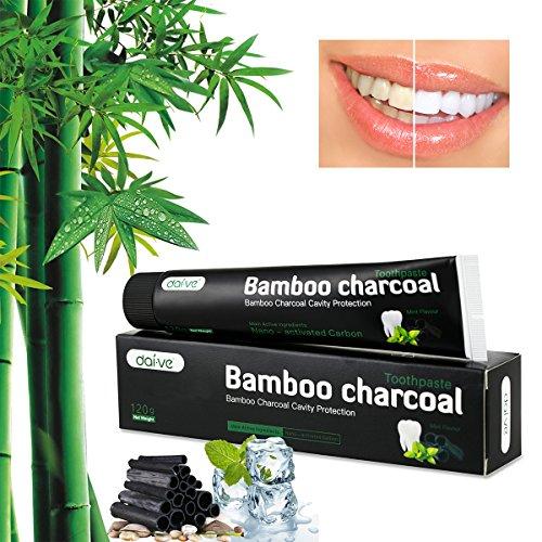 JXJFOZ Aktivkohle Bambuskohle Zahncreme Test