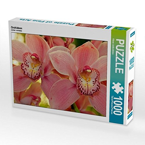 Orchideen 1000 Teile Puzzle quer