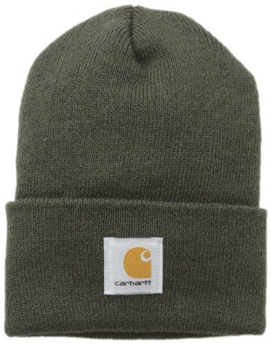 Preisvergleich Produktbild Carhartt Acrylic Mütze Beanie dunkel A18DGR, grün, A18