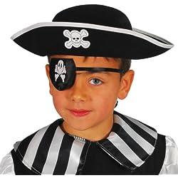 Sombrero de pirata para grumete, infantil.