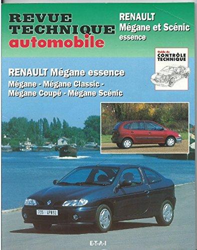 RRTA0593.1 - REVUE TECHNIQUE AUTOMOBILE RENAULT MEGANE-SCENIC Essence Mégane, Classic, Coupé, Scénic par ETAI