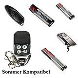 SOMMER 4018 TX55-868-4 Pearl Garagentor Handsender Ersatz - 4-befehl Fernbedienung 868 8 Mhz, Key Fob