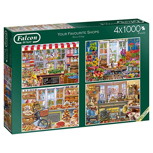Falcon de luxe 11249 Puzzle, 4 x 1000 Teile