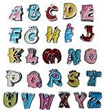 Buchstaben Funny für Namenshalsband - Für 0,8cm Bandbreite geeignet