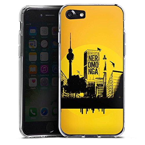 Apple iPhone X Silikon Hülle Case Schutzhülle Berlin Stadt Fernsehturm Silikon Case transparent