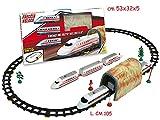 Teorema Treno Freccia Rossa con Tunnel 46Pz - Window Box Merchandising Ufficiale