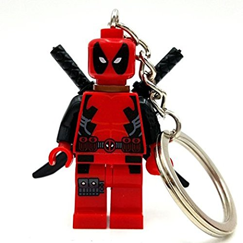 Building Toys Deadpool Keychain