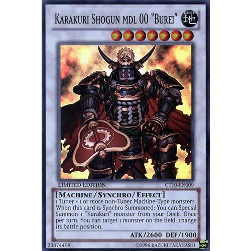 YuGiOh : CT10-EN009 Limited Ed Karakuri Shogun MDL 00 Burei Super Rare Card - ( Yu-Gi-Oh! Single Card ) by Deckboosters
