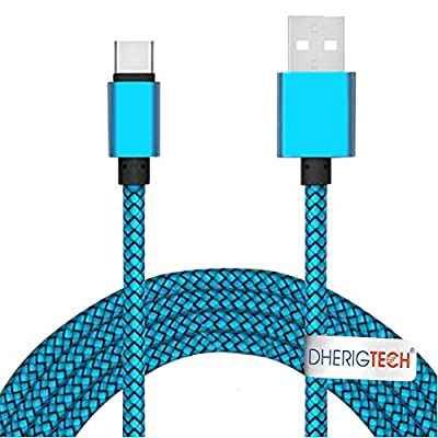 TYPE C USB CHARGER DATA CABLE FOR SONY XPERIA XZ/X Compact /L1/ XA1/ XZ Premium from DHERIGTECH®