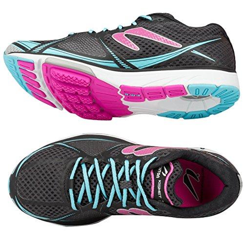 Newton Running Women's Kismet Ii Shoe, Scarpe da Corsa Donna Nero (Black/pink)