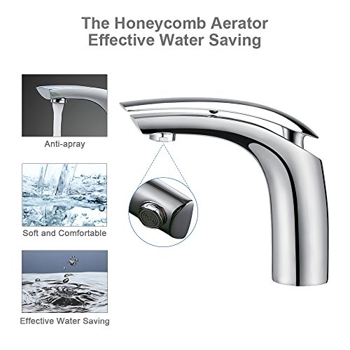 Homelody Wasserhahn Bad Einhebelmischer Mischbatterie Chrom Waschbecken Armatur Waschtischbatterie Waschtischarmatur Badarmatur - 3