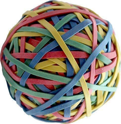 Ca 190 Gummiringe als Gummiball Maße: 40 x 1,1 x 3 mm Gummibänder mit  Kautschukanteil