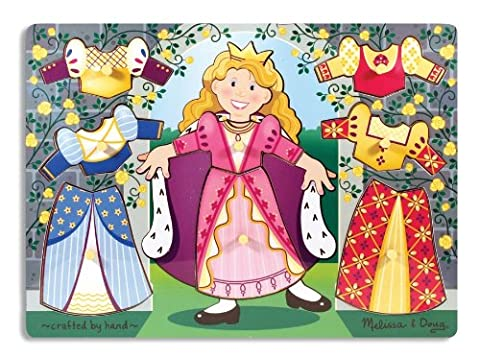 Melissa & Doug - Princess Dress-Up Mix 'n Match Peg