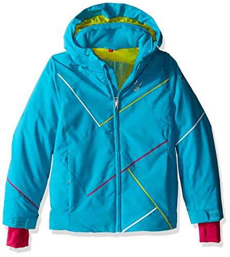 Spyder Kinder Girl'S Tresh Jacke, Mehrfarbig, 16 (Spyder Ski-jacke Für Mädchen)