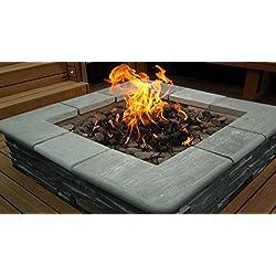 Brightstar cheminée, brûleurs à gaz, carré, 18kw, à gaz GPL