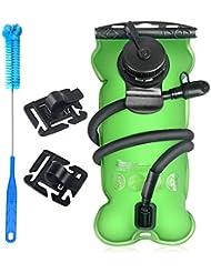 Kit di pulizia per sacca d' idratazione Tagvo universale serbatoio d' acqua/vescica di idratazione 3litri senza BPA (3l 2.835gram), Hydration Bladder 3 Liter