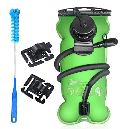 TAGVO Kit di Pulizia per Sacca d' idratazione Universale Serbatoio d' Acqua/vescica di idratazione 3Litri Senza BPA (3l 2.835Gram), Hydration Bladder 3 Liter