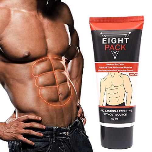 Bauch-Creme, Männer Frauen Bauchmuskel-Creme, Anti Cellulite Abnehmen Fat Burning Cream, Straffung Erhöht Muskelkraft & Fettverbrennung
