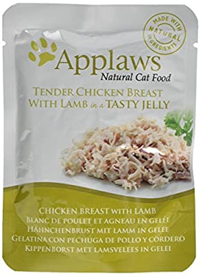 Applaws Chicken and Pumpkin Pouch 12 x 70 g