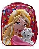 Best Preschool Backpacks - Batu Lee 5D Princess 13 inch Pink Waterproof Review