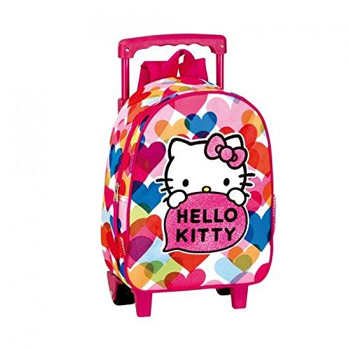 Hello Kitty - Sac à dos à roulettes Hello Kitty...