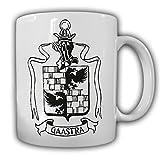 Tasse Familien Wappen Gaastra Logo Wappen Siegel Familienwappen #23211
