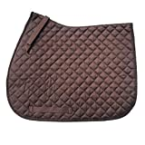 Best Saddle Pads - GS Equestrian Unisex's General Purpose Saddle Pad, Brown Review