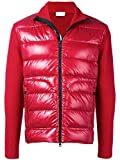 Moncler Herren 94166009699Z456 Rot Polyester Jacke