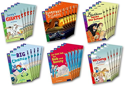 Oxford Reading Tree TreeTops Fiction: Level 11 More Pack A: Pack of 36
