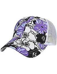 Hulday Gorra para Hombre Mujer De para Moda Y Verano Transpirable Estilo  Simple Gorra Impresa Ajustable Sombrero Sombrero… d3a138746c7