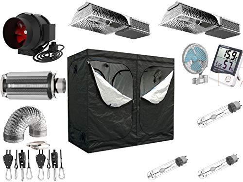 Nito GmbH AKF 935m3/h Pro Kit de Culture électronique VSG à intensité Variable 200 x 100 x 200 cm 2 x 315 W CMH