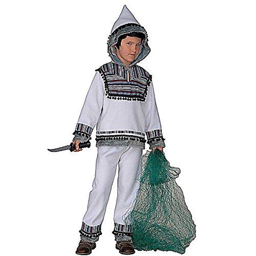 Widmann wdm55727 - costume per bambini eschimese (140 cm/8-10 anni), multicolore, xs