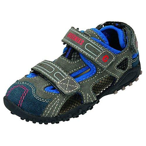 Greenies 160320 sandale pour enfant Bleu - Navy/Grau