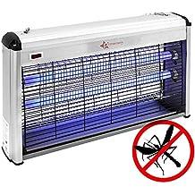 PrimeMatik - Tue-Mouche destructeur d insectes Electrique Anti Moustique  Lampe Anti Insectes Volants af7aab98b254