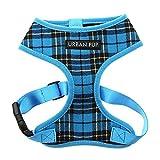Urban Pup Blue Tartan Harness XXS