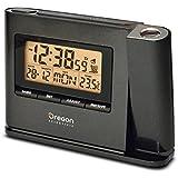 Oregon Scientific IWA-80135 - Reloj proyector con temperatura, interior, color negro