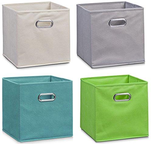 Zeller Vlies Aufbewahrungs-Box 4er Set