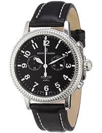 Revue Thommen Herren-Armbanduhr XL Airspeed Quartz Chronograph Leder 17020.9537