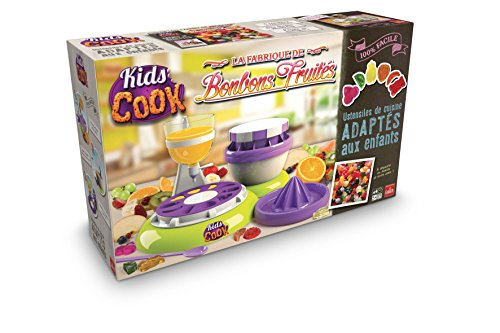 Goliath - Kids Cook Fabrique de bonbons fruités -82287.006