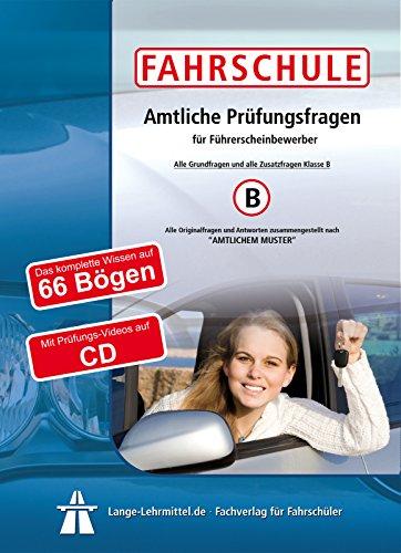 Preisvergleich Produktbild Führerschein Fragebogen Klasse B (PKW)