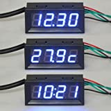 "DEOK 056 ""Digital Uhr/Voltmeter/Thermometer 3in1"