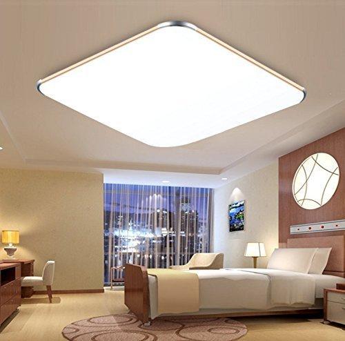 SAILUN 12W Kaltweiss Warmweiss Ultraslim LED Deckenleuchte Modern Deckenlampe Flur Wohnzimmer Lampe Schlafzimmer Kche Energie Sparen Licht Wandleuchte Farbe