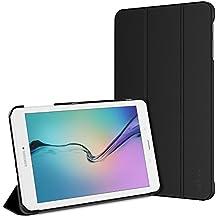 JETech Funda para Samsung Galaxy Tab E / Tab E Nook 9,6, Carcasa con Soporte Función, Negro