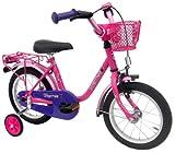 Bachtenkirch Kinderfahrrad 14 Zoll EMPRESS pink Stützräder und Seitenständer