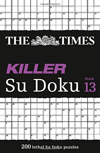 The Times Killer Su Doku Book 13 por The Times Mind Games