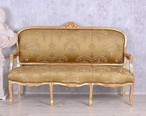 PALAZZO INT Barockes Sofa Salon Sitzbank Barocksofa Antik Stilmöbel Rokoko