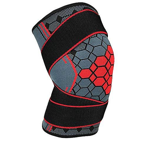 Vogue Fang Kniebandage Wrap Elastic Bandage Protector Turmalin Knieschützer Knieschützer Sleeve Cap Patella Guard Volleyball Basketball -