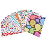 #8: craft paper A4 size (15 different assorted designs)